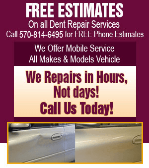 Free Estimate - Wilkes-Barre, PA - Dent Center 570-814-6495