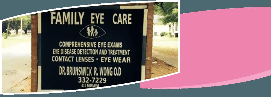 Family Eye Care office