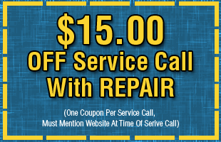$15.00 off coupon with service repair