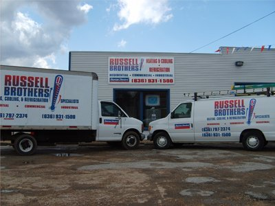 Festus, MO - Commercial Refrigeration - Russell Brothers Heating, Cooling, & Refrigeration Specialists Inc