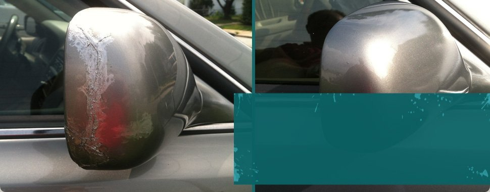 Exterior mirror refinishing | Fork, MD | The Paint Medic, Inc. | 410-456-2227