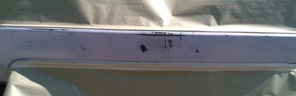 Mat/flat black trim repair | Fork, MD | The Paint Medic, Inc. | 410-456-2227