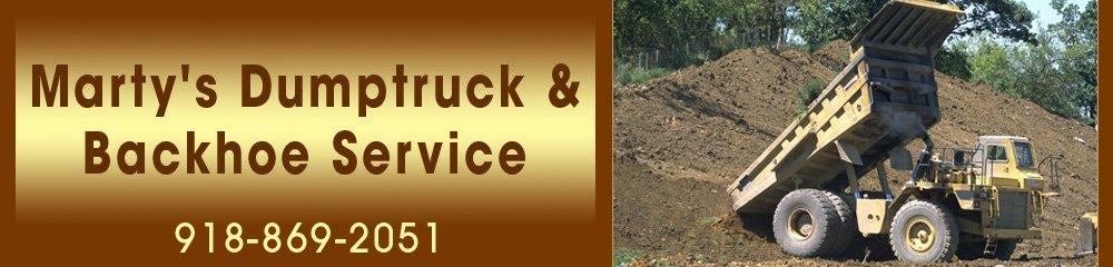 Septic Service - Muskogee, OK - Marty's Dumptruck & Backhoe Service