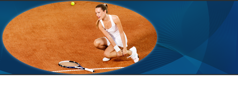 Tennis player got injured