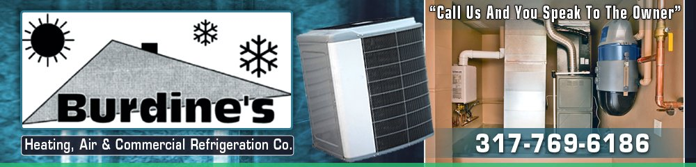 Air Conditioning Contractors - Boone, IN - Burdine's Heating, Air & Commercial Refrigeration Co.