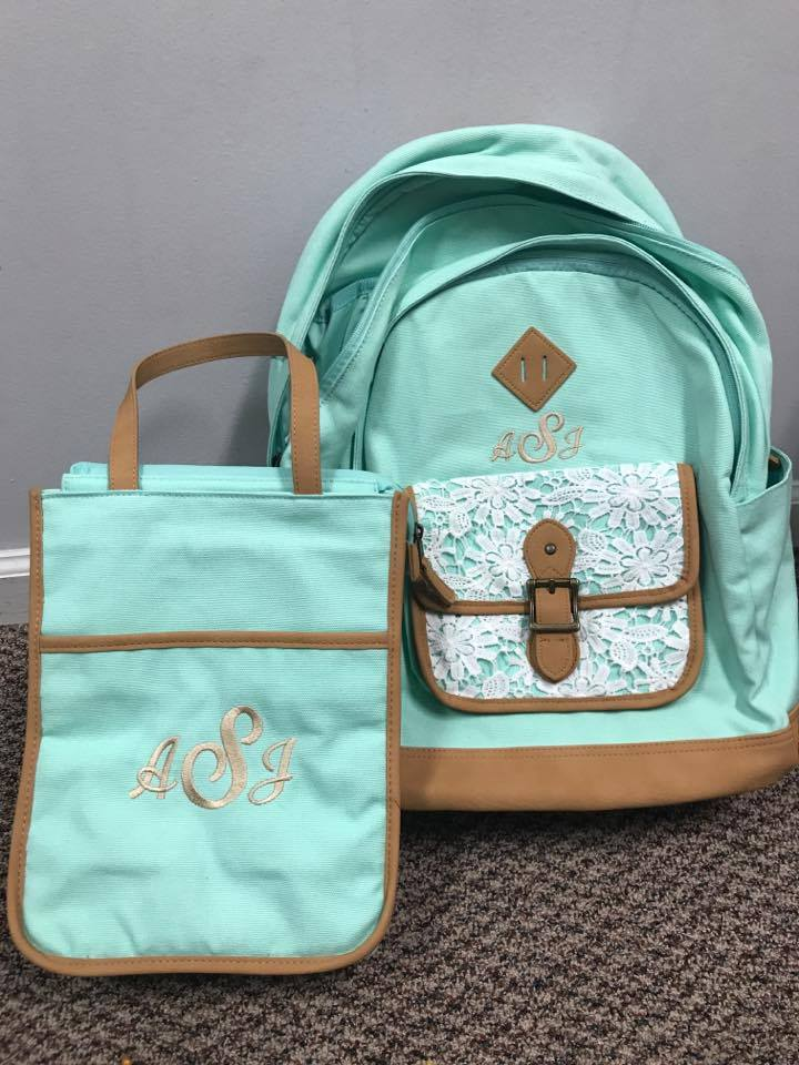 Bags' embroidery