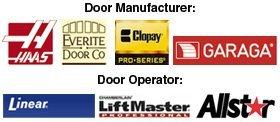 HAAS, Everite Door Co, Clopay, Garaga, Linear, LiftMaster, Allstar
