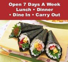 Japanese Buffet - Saginaw, MI - Teppanyaki Grill & Supreme Buffet