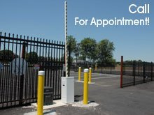Security Storage - Cedar Hill, MO - Big River Self Storage - Security fence - Call for appointment!