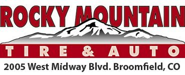 Rocky Mountain Tire & Auto - Logo