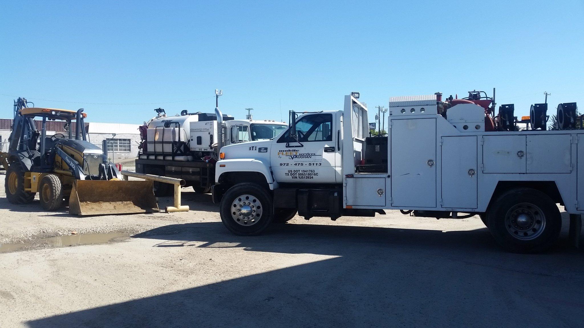 Vaughan Fleet Services truck