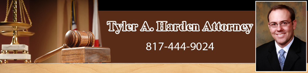 Attorney - Azle, TX - Tyler A. Harden Attorney
