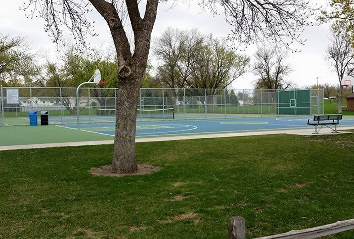 Riverdale Basketball and Tennis Courts