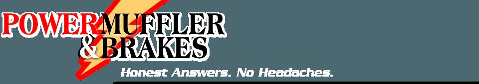 Auto Repairs  - Monrovia, CA  - Power Muffler & Brakes