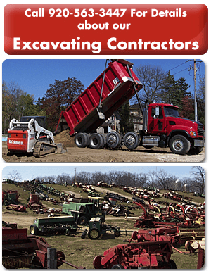 Excavating - Jefferson, WI  - Jaeckel Bros - Call 920-563-3447 For Details about our - Excavating Contractors