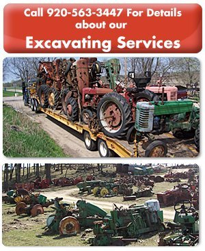 Farm Equipment - Jefferson, WI  - Jaeckel Bros - Call 920-563-3447 For Details about our  - Excavating Services