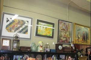 Paintings and Antique Stuff