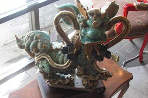Chinese Dragon Statuette