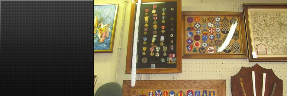 Antique Patches and Medals