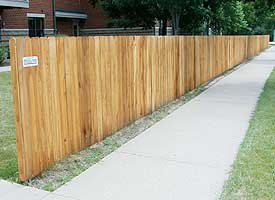Fence Madison, WI Struck & Irwin Fence Inc Baron Cape Cod - Cedar Solid Board