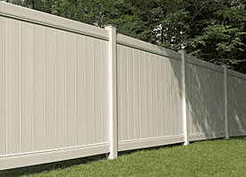 Fence Madison, WI Struck & Irwin Fence Inc Lexington - Chesterfield Vinyl-Tan