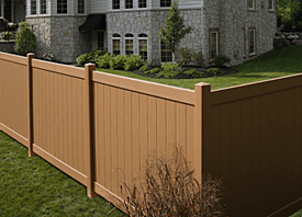 Fence Madison, WI Struck & Irwin Fence Inc Baron-Chesterfield Vinyl-Sierra Blend