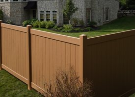 Vinyl Fence - Madison, WI - Struck & Irwin Fence Inc - sierra blend vinyl