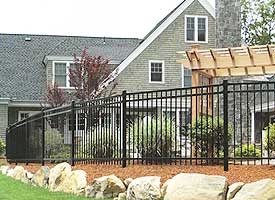 Fence Madison, WI Struck & Irwin Fence Inc Imperial Vinyl - 3 Rail Majestic