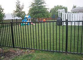 Fencing Installation Photo Gallery Struck Amp Irwin Fence Inc