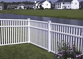 Fence Madison, WI Struck & Irwin Fence Inc Baron-White Vinyl
