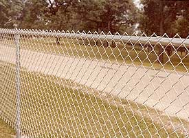 Fence Madison, WI Struck & Irwin Fence Inc Baron - Silver Chain Link