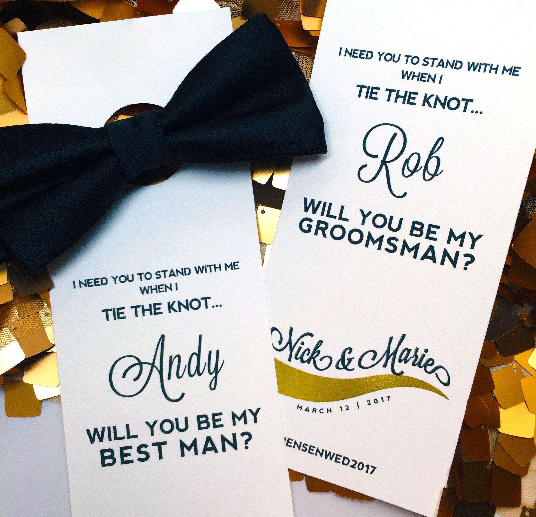 Bow tie card