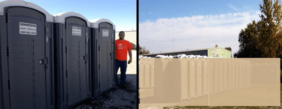 Portable Toilet Occasions | Peoria, IL | Simmon's Little Johnnies | 309-243-1514