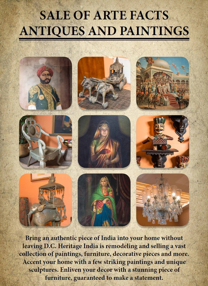 Heritage India Poster