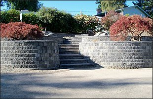 Stairways | University Place, WA | Superior Rock Wall | 253-565-6208