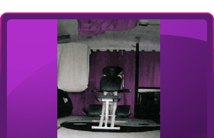 Business chair massage and equipment