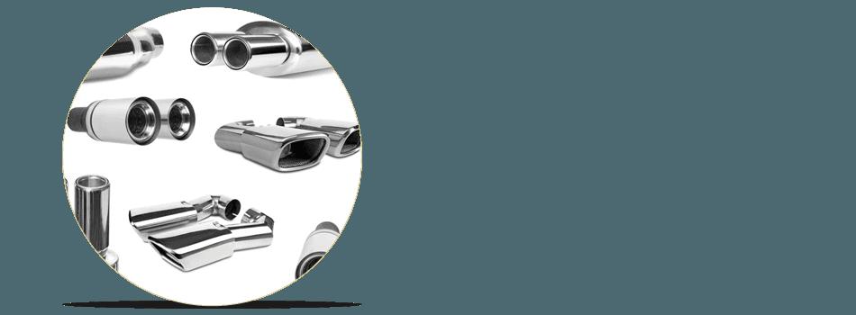 Different muffler designs