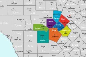 Kustom Fence-Service Area Map