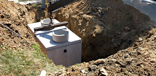 Excavation and septic installation