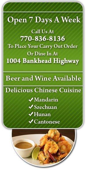 Chinese Cuisine - Carollton, GA - Evergreen Chinese Restaurant