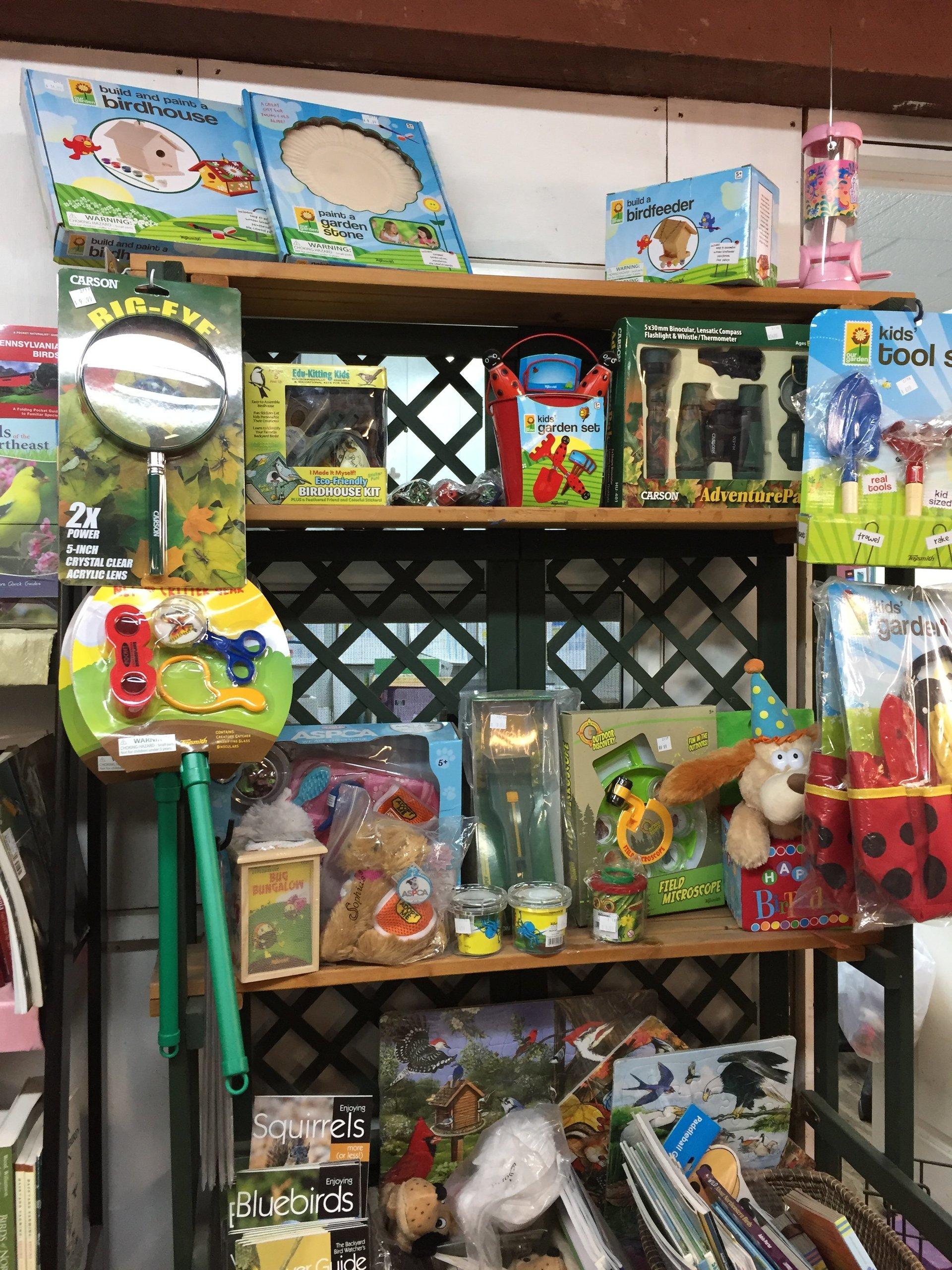 Children's Gifts and Garden Accessories