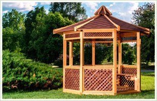 Gazebos | Watertown, NY | 4 Elements Landscape Design & Build | 315-783-1096