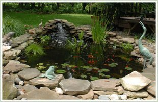 Waterfalls | Watertown, NY | 4 Elements Landscape Design & Build | 315-783-1096