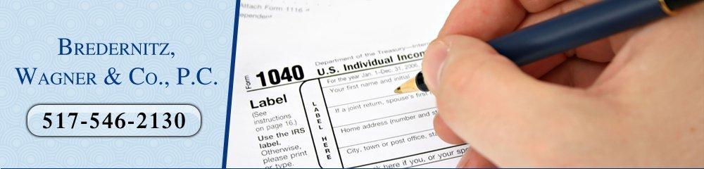Tax Preparation Services - Howell, MI - Bredernitz, Wagner & Co., P.C.