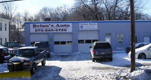 Brian's Auto Transmissions garage