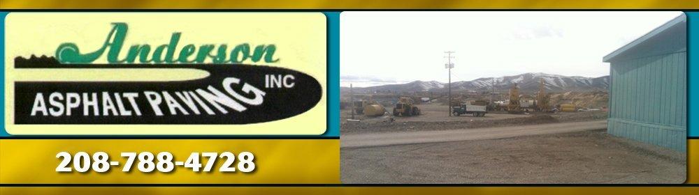 Asphalt Paving Contractor - Hailey, ID - Anderson Asphalt Paving Inc