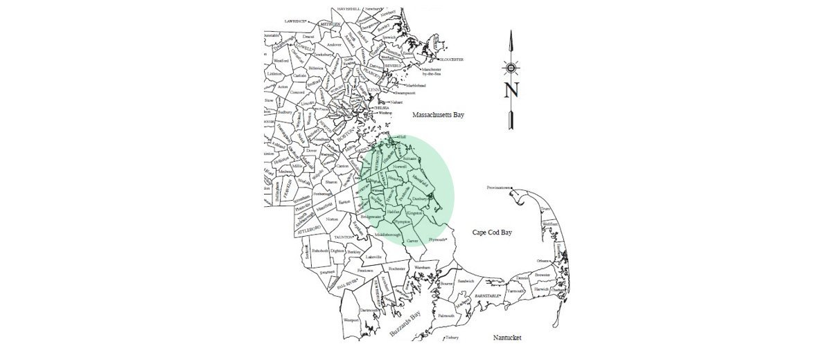 ProShield Exteriors - Service Area Map