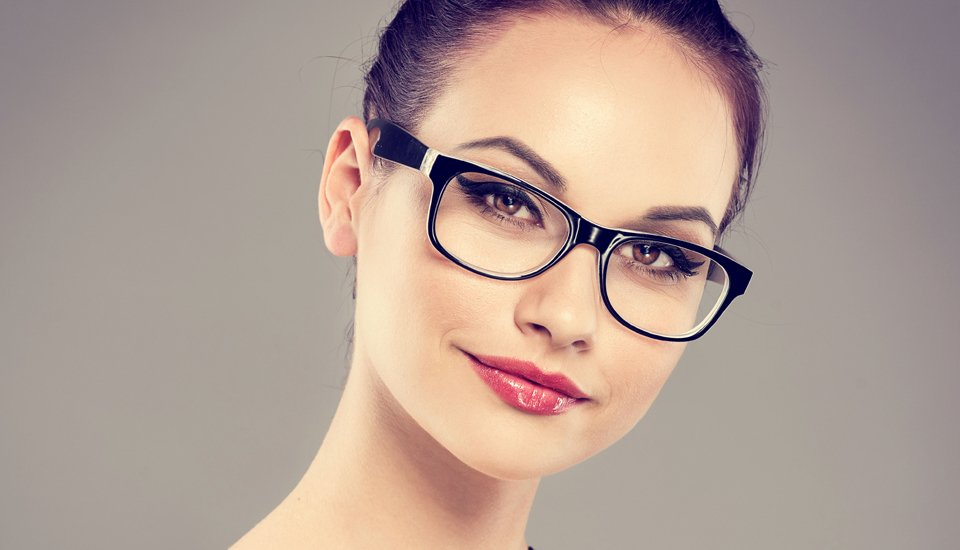 Woman with specs