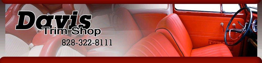 Seat Covers - Hickory, NC - Davis Trim Shop