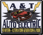 A & T Auto Electric Inc - logo
